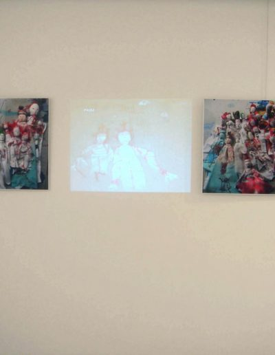 solo exhibition, gallery Tint