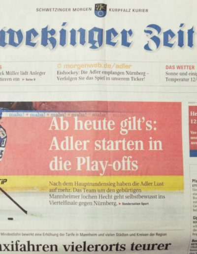 newspaper, March 11, 2015